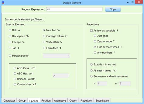 regex pattern generator c regex auto builder standard edition download