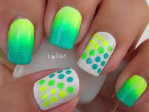 nail art neon dots decoracion de u 241 as puntos ne 243 n