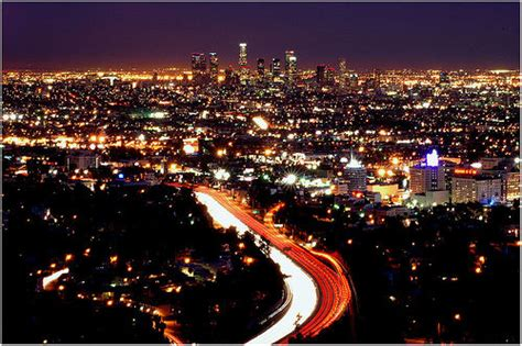 lights in la la lights a picture of los angeles the city of