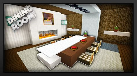 How To Make A Dining by Minecraft How To Make A Dining Room