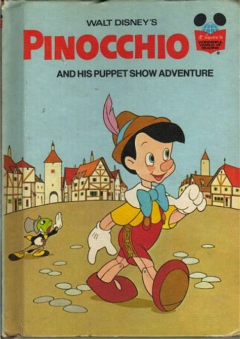 pinocchio picture book pinocchio and his puppet show adventure by walt disney
