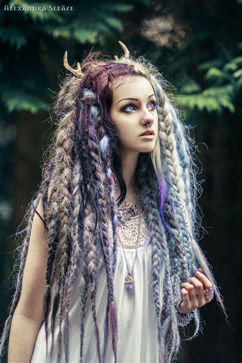 Witch Hair Styles | white witch by psychara deviantart com on deviantart