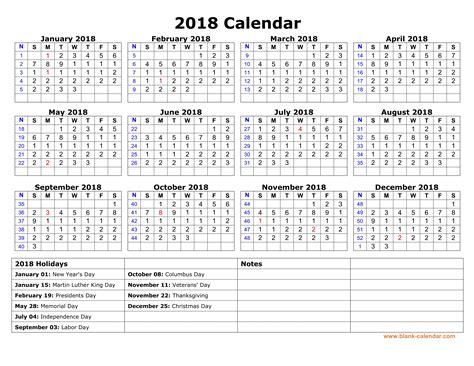 yearly printable calendar 2018 expin franklinfire co