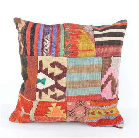 large cushions for couch large colorful kelim patchwork cushions from turkey woven