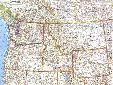 map of western states usa northwestern united states northwest u s pacific northwest