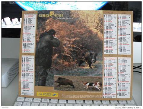 Calendrier J Cartier Bresson Chasse Et P 234 Che Calendrier Almanach Du Facteur J