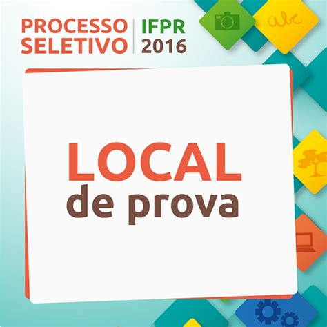 upenet pmpe2016 local de prova ifpr instituto federal do paran 225