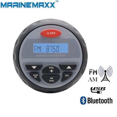 bluetooth motocross 4 quot waterproof marine radio motorcycle stereo audio