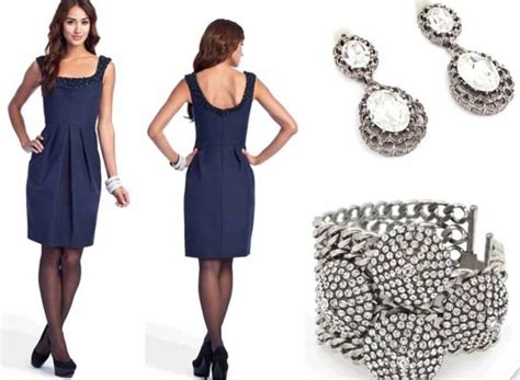 what color goes with silver what color jewelry goes with navy blue dresses