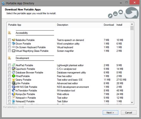 portable apps themes download portableapps com platform features portableapps com