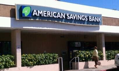 american savings bank american savings bank hawaii branch banks credit