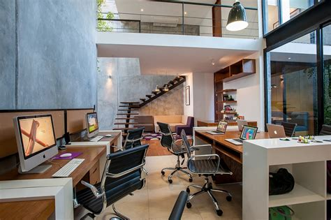 Home Interiors Mexico by Balancing Comfort And Formality Modern Matatena Offices