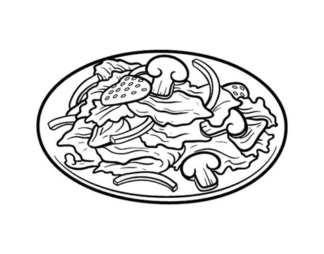 chicken sandwich coloring page buzz coloring free salad coloring pages