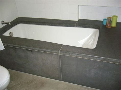 poured concrete bathtub best 25 bathtub surround ideas that you will like on