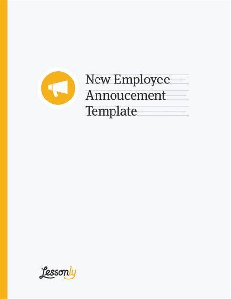 free announcement template new employee announcement templates email pr letter