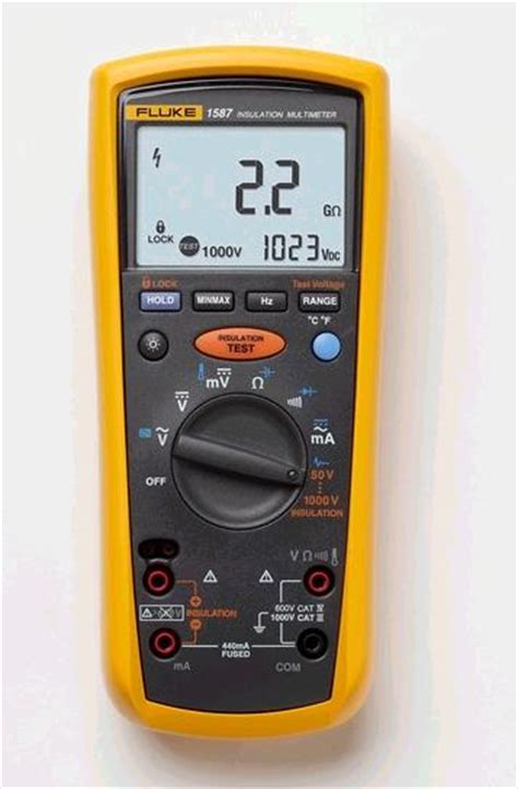 how to test capacitor with fluke multimeter fluke 1587 and 1577 insulation multimeters electronics repair and technology news