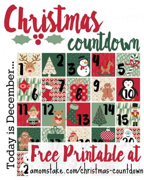 free printable advent calendar 2015 christmas countdown printable a mom s take