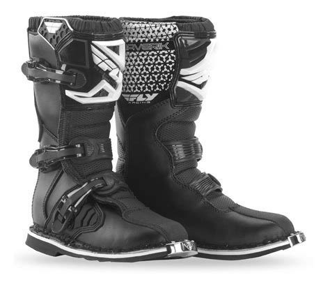 youth motorcycle boots fly racing youth maverik boots revzilla
