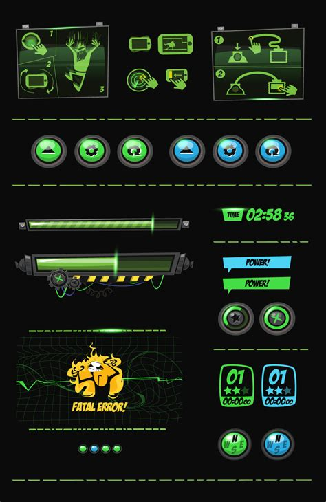design game gui panic station gui design on behance