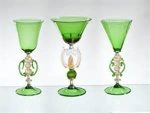 Vase Cup Handmade Venetian Glass Murano Glass Artistic Works Fu1366