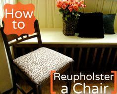 1000 images about reupholster a chair on