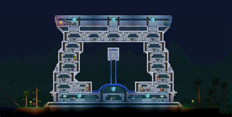 Gold Chandelier Terraria Spectacular Early House Terraria Community Forums