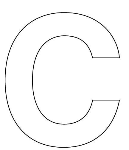C Drawing Template by Best 25 Letter C Ideas On Letter C Crafts