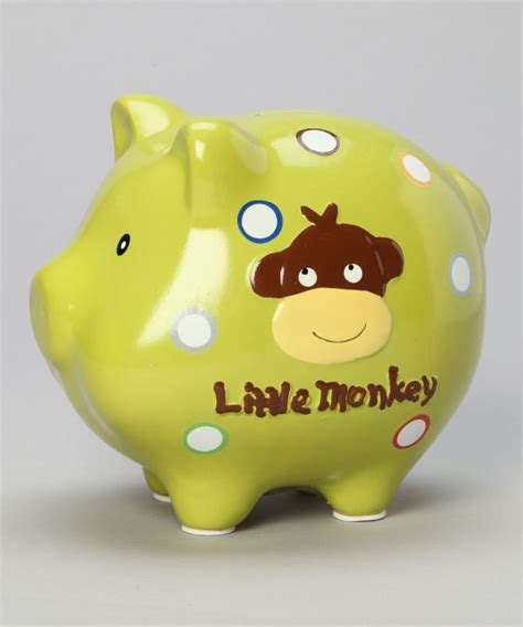 monkey piggy bank yellow monkey piggy bank kid and monkey