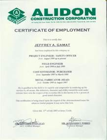 Certification Letter In The Philippines Sample Employment Certificate Internet Philippines Com About Philippinesinternet Philippines