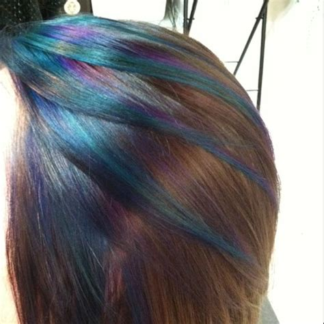 peacock hair color peacock inspired hair color hair