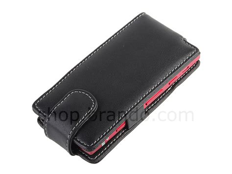 Flip Cover Sony Xperia Lt22i brando workshop leather for sony xperia p lt22i flip top