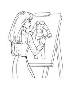 Dibujo de Diseño de Indumentaria para colorear   Dibujos