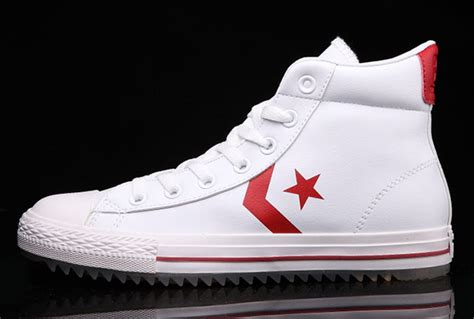 Converse Ct High New Size 9 5 43 white leather converse padded collar korea ct all