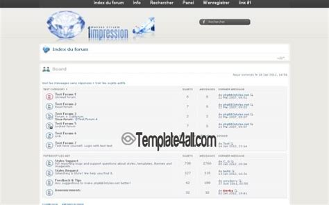 chrome themes white clean white chrome phpbb theme download