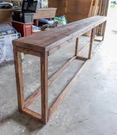 Flip Top Console Table 25 Best Ideas About Diy Sofa Table On Pinterest Table