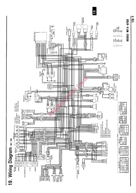 honda vfr wiring diagrams gallery electrical