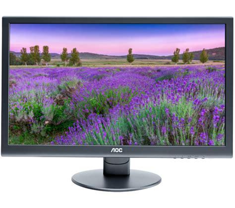 Monitor Pc Led Hd aoc e2752vq hd 27 quot led monitor deals pc world