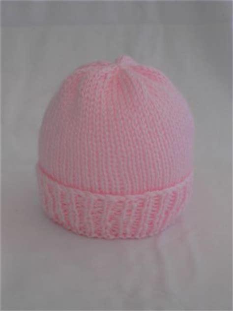 easy knit newborn hat pattern sea trail grandmas easy newborn hat knitting pattern