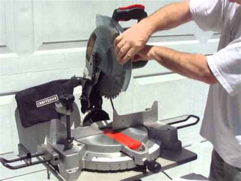 how long is a twelve inch saw in bob craftsman compound miter saw 12 inch youtube