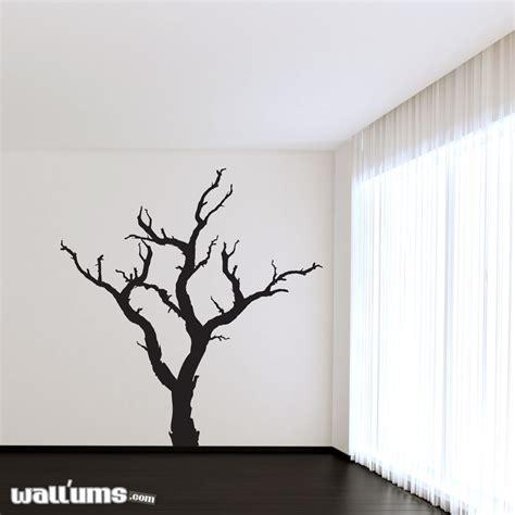 tree of wall sticker spooky dead tree wall decal sticker