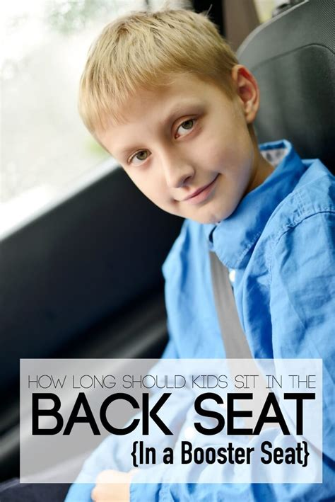 can child ride in front seat with booster why my tween still sits in the back seat in a booster seat