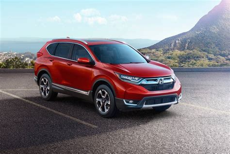 honda cvr 2017 honda cr v revealed in us spec brings 1 5t