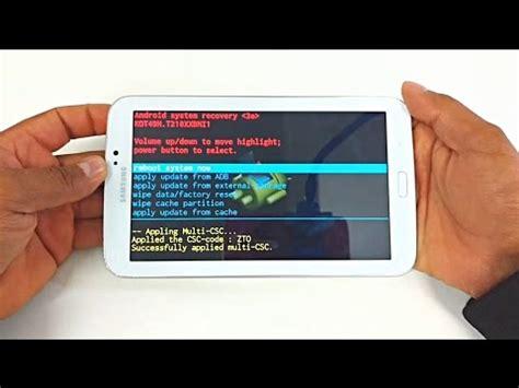 resetter t110 hard reset samsung galaxy tab 3 sm t210 t110 t111m