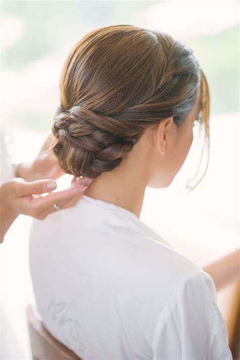 Wedding Hairstyles Braids Low Bun by Finest Quality Wigs Hair Extensions Reviews