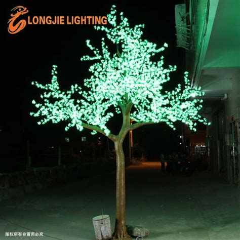 electric tree lights outdoor electric led warm white decorative flowering tree