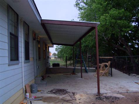 steel awning commercial steel awning new braunfels carport