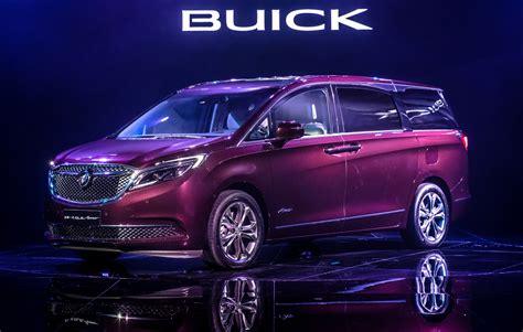 cadillac minivan 2017 buick avenir model is a china only minivan