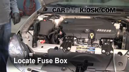 replace  fuse   chevrolet impala  chevrolet impala lt   flexfuel
