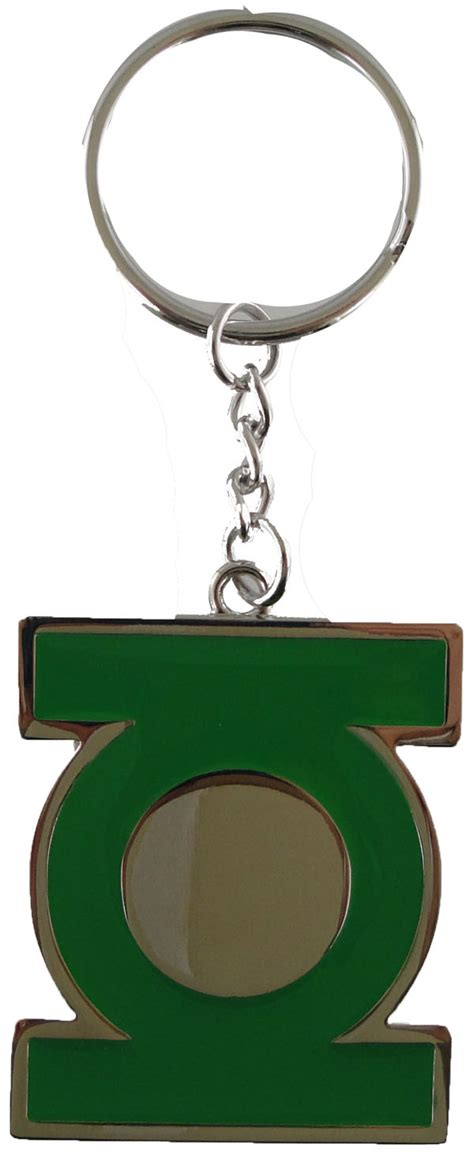 Green Lantern Logo Flip green lantern logo keychain