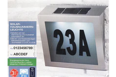Fahrzeugbeschriftung G Nstig by Hausnummernleuchte Led Solar Hausnummern Leuchte Gev